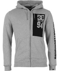 DC Ultimate Race Zip Hoody Mens, heather grey