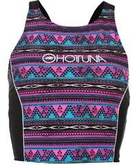 Hot Tuna Sport Crop Top Womens, pink/purp aop