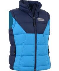 Dětská zimní vesta NORDBLANC AVID NBWJK5910L AZUROVĚ