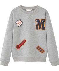 MANGO KIDS Sweatshirt Mit Aufnähern