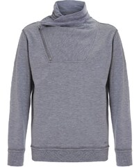 Blue Effect Sweatshirt grau melange