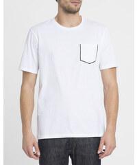 THE KOOPLES SPORT Weißes T-Shirt mit Brusttaschen