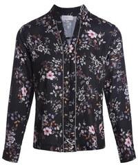 Blouse imprimé floral multicolore Beige Polyester - Femme Taille 2 - Cache Cache