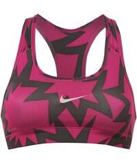 Under Armour Nike Graph Pro Sports Bra Ladies Pink/Grey