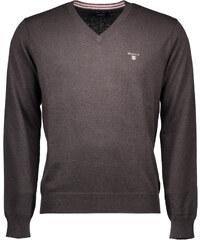 Man Pullover Gant 68847 - Hnědá / XL