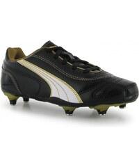 Puma Kratero SG Childrens Football Boots, black/gold