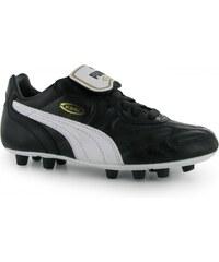 Puma King Top DI FG Junior, black/white
