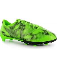 Adidas F10 FG Junior Football Boots, solar green