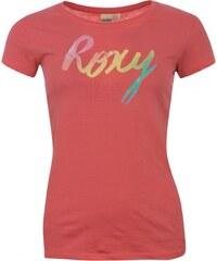 Roxy Rainbow T Shirt Ladies, pink