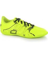 Adidas X 15.4 Junior Indoor Football Trainers, solar yellow