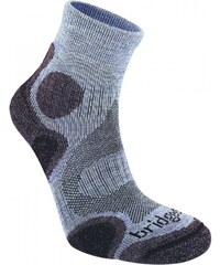 Bridgedale Cool Fusion Trail Diva Socks Ladies, heather/damson