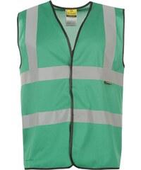 Dunlop Coloured Hi Vis Vest, green