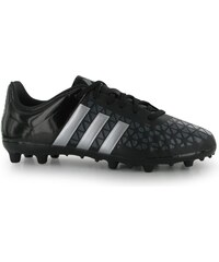 Adidas Ace 15.3 FG Childrens Football Boots, black/silver
