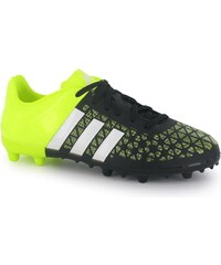 Adidas Ace 15.3 FG Childrens Football Boots, black/yellow