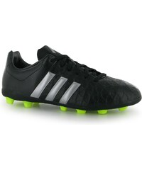 Adidas Ace 15.4 FG Junior Football Boots, black/silver