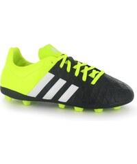 Adidas Ace 15.4 FG Junior Football Boots, black/yellow