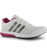 Adidas Galaxy Elite Ladies Trainers, white/iron/pink