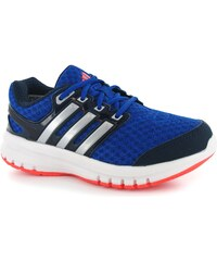 Adidas GalaxyElite Childrens Running Trainers, roy/sil/nvy/red