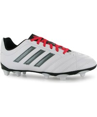 Adidas Goletto FG Junior Football Boots, white/night met