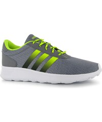Adidas Lite Racer Mens Trainers, grey/blk/yellow