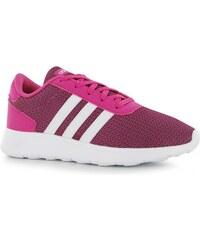 Adidas Lite Racer Trainers Junior Girls, pink/white