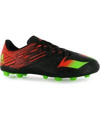 Adidas Messi 15.4 FG Childrens Football Boots, black/sol green