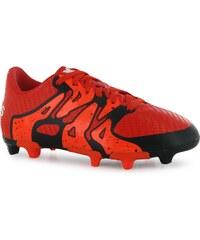 Adidas X 15.3 FG Childrens Football Boots, bold orange