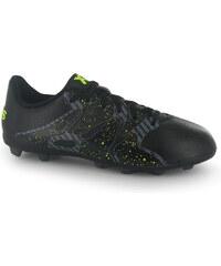 Adidas X 15.4 FG Childrens Football Boots, core black/ylw