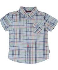 Ben Sherman 00J Short Sleeved Childrens Shirt, sky