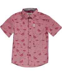 Ben Sherman 03J Short Sleeve Juniors Shirt, red