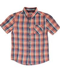 Ben Sherman 06T Short Sleeved Juniors Shirt, deep coral