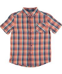 Ben Sherman 06T Short Sleeved Juniors Shirt, orange