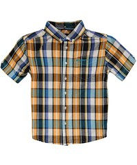 Ben Sherman 53T Short Sleeve Juniors Shirt, pheasent check