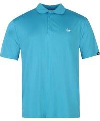 Dunlop Plain Polo Shirt Mens, aqua