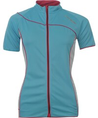 Dunlop Stand Cycling Top Ladies, light blue/pink