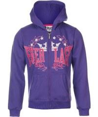 Everlast Logo Zip Hoody Junior Girls, royal purple