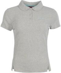 LA Gear Pique Polo Shirt Ladies, grey marl