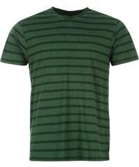 Lee Cooper Yarn Dye VNeck TShirt Mens, vintage green