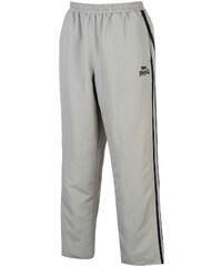Lonsdale 2 Stripe Open Hem Woven Pants Mens, silver/navy