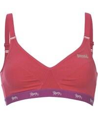 Lonsdale Sports Bra Ladies, fluopink/purple