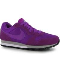 Nike MD Runner 2 Ladies Trainers, purple/silver