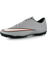 Nike Mercurial Victory CR7 Mens Astro Turf Trainers, silver