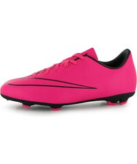 Nike Mercurial Victory FG Junior Football Boots, hyp pink/black