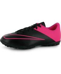 Nike Mercurial Victory Junior Astro Turf Trainers, black/pink