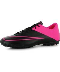 Nike Mercurial Victory Mens Astro Turf Trainers, black/pink