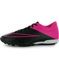 Nike Mercurial Vortex Mens Astro Turf Trainers, black/pink
