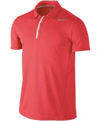 Nike Waffle Tennis Polo Shirt Mens, red/white