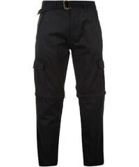 Pierre Cardin Zip Off Cargo Pants Mens, navy
