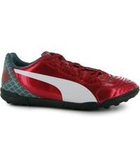 Puma Evo Power 4.2 Junior Graphic Turf Trainers, red/white