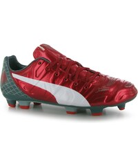 Puma evoPower 3.2 Firm Ground Football Boots Mens, red/white